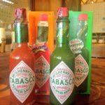 タバスコのハラペーニョソース(緑色)と赤色の辛さ・合う使い方の違い