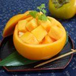 柿の食べ方は皮を剥いて食べるの?皮と実の食べかたや栄養も紹介